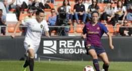 VCF Femenino y FC Barcelona se reparten puntos en un partido sin goles (0-0)