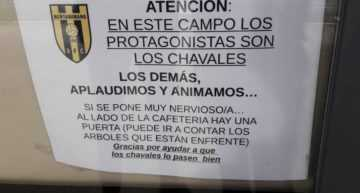 El magnífico consejo del Bertamirans FC para los padres que se ponen 'nerviositos'