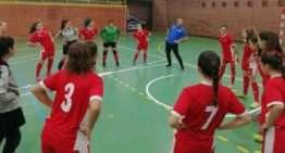 Entrenamiento de las selecciones FFCV de futsal en Sagunto el domingo 2