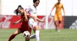 La selección española femenina Sub-17 en semifinales del Mundial tras imponerse a Corea del Norte en los penaltis (1-1)