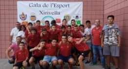 El Sporting Xirivella fue premiado por su 'unión' en la III Gala del Deporte de Xirivella