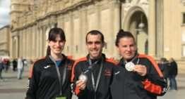 Fundación Espurna regresa de Zaragoza con seis medallas en el Campeonato Nacional de atletismo indoor