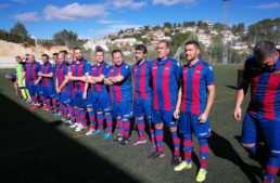 Partido benéfico 'César, todos estamos contigo' entre Valencia CF y Levante UD Veteranos el 2 de diciembre