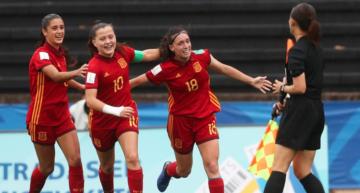 España Sub-17 Femenina tumba a Nueva Zelanda y ya está en la final del Mundial (2-0)