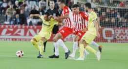 El Villarreal sufrió para empatar en dieciseisavos de Copa ante la UD Almería (3-3)
