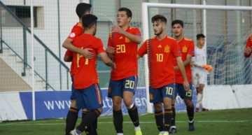 España Sub-18 no tuvo oposición en su amistoso ante China (7-1)