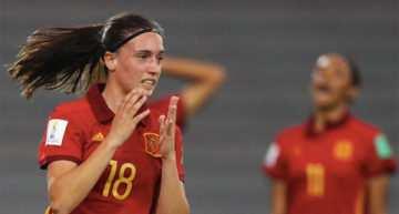 La selección española femenina Sub-17 no pudo pasar del empate ante Colombia (1-1)