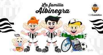GALERÍA: El CD Castellón presenta a sus nuevas mascotas virtuales: 'La Familia Albinegra'