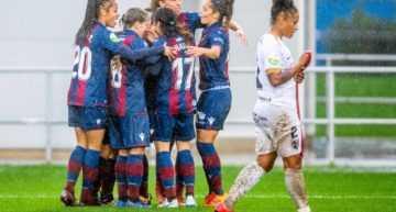 El Levante Femenino no tuvo oposición ante un inofensivo Málaga (7-0)