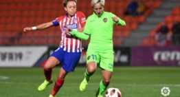 Un Levante sin 'punch' se quedó sin argumentos en ataque ante el líder Atlético Féminas (2-0)