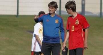 Mosquera y Céspedes estarán con la España Sub-15 de Julen Guerrero