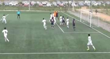 VIDEO: Tablas entre los potentes Levante y Fundació VCF de Liga Autonómica Cadete (1-1)
