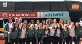 VIDEO: La Selección Española Femenina Sub-17 ya está en Montevideo con la 'ilusión de volver con un gran triunfo'