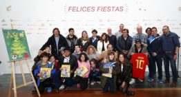 La RFEF elige la solidaridad como protagonista de su tradicional felicitación navideña