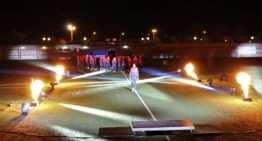 VIDEO: Fuego y colorido para la histórica presentación del Silla CF 2018-2019