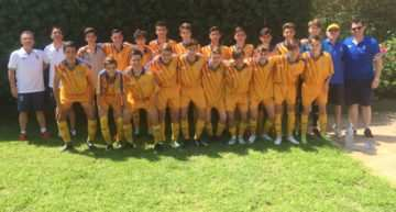 Amistoso para la Selección Comarcal Sub-15 en Alberic el próximo lunes 25