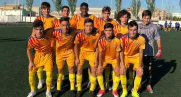 Entrenamiento de la FFCV Sub-16 y Sub-18 en Paterna el miércoles 12