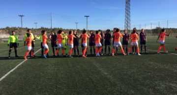 El Levante logra una importante victoria ante el Alhama en Segunda División Femenina (3-0)