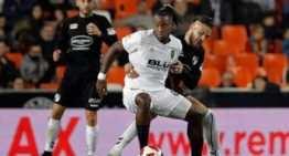 El Valencia CF, primer equipo FFCV en meterse en octavos de final de Copa del Rey tras superar al CD Ebro