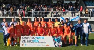 La Selección FFCV Sub-18 también vence a Galicia y certifica el pleno de victorias para los valencianos (2-0)