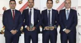 Premio a los valencianos Rabadán y Delgado como Mejores Arbitros de Fútbol Sala