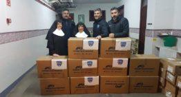 500 kilos de solidaridad en el CF San José