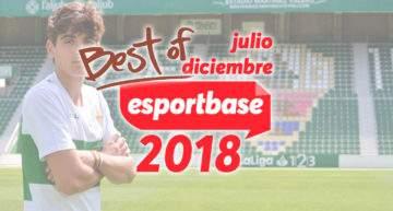 Lo mejor del deporte base en 2018, en ESPORTBASE (de julio a diciembre)