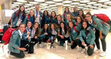 VIDEO: Las campeonas del mundo Sub-17 toman tierra en España