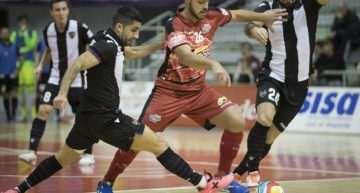 El Levante Fútbol Sala se despidió de la Copa del Rey ante el Murcia (4-1)