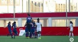 Charlyn Corral resolvió para el Levante Femenino a tres minutos del final (2-3)