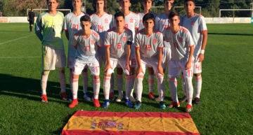 España Sub-15 se deshizo sin apuros de Arabia Saudí y suma ya dos victorias (0-4)