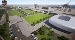 El Levante UD quiere empezar las obras de su nueva Ciudad Deportiva en Nazaret antes de que acabe 2019