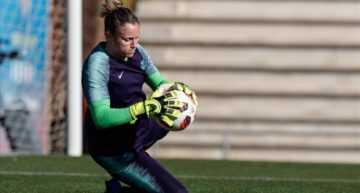 Sandra Paños (FC Barcelona Femení): 'Es un orgullo que las niñas se puedan fijar en nosotras'