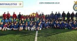 Grupos y horarios para la Jornada 4 de la IX Copa Federación Benjamín