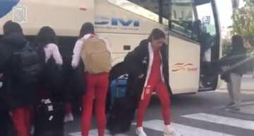 Catorce autobuses de la FFCV desplazarán a clubes y deportistas a ver en directo el España-EE.UU. este martes