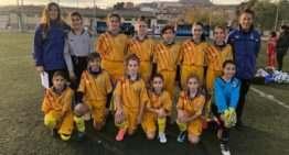 Primer entrenamiento de 2019 para las chicas Sub-12 FFCV el jueves 10 de enero