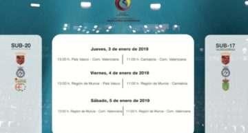 Aquí puedes disfrutar en directo la retransmisión del Campeonato de España femenino de futsal del 3 al 5 de enero desde Murcia