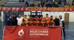 La Sub-16 FFCV de futsal no falla y suma otro triunfo ante Aragón (6-2)
