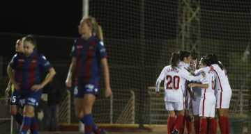 El Sevilla de Cristian Toro sorprendió al Levante y eliminó a las granotas de la Copa de la Reina (1-1)