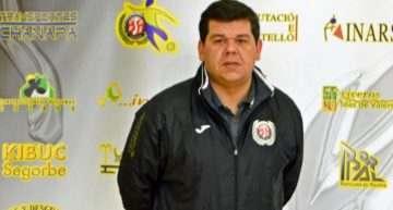 Sergio Calduch es el nuevo entrenador del Viveros Mas de Valero de futsal