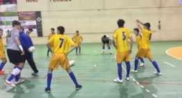 Intenso entrenamiento de las selecciones Sub-12 y Sub-14 de futsal FFCV este domingo 27