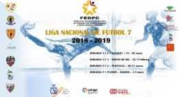 La Liga Nacional de Fútbol-7 para personas con parálisis cerebral arranca en Alicante el 19 y 20 de enero