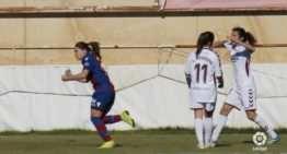 Un gol de Banini permite al Levante seguir acechando la segunda plaza en Liga Iberdrola (0-1)