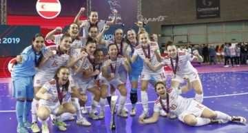 España conquista la primera Eurocopa de futsal de la historia tras dominar a Portugal en la final (4-0)