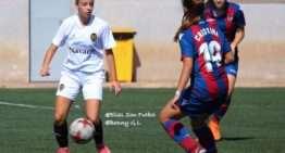 El Valencia cuaja un partido perfecto y se impone al Levante en Liga Autonómica Femenina (2-0)