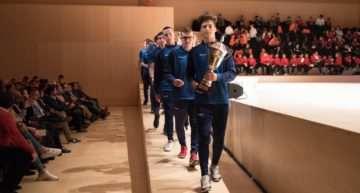 La FFCV en Castellón entregó los premios al fútbol base 2017-18