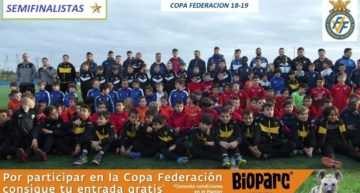 Castellón, Patacona o Malilla, entre los 10 clasificados de la Jornada 6 en la IX Copa Federación Benjamín