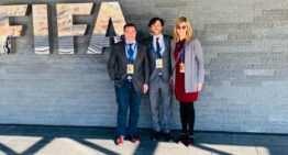 Gomar, Miguel Ramón y Nieves Vila representaron a la FFCV en las primeras Jornadas Jurídicas de la FIFA