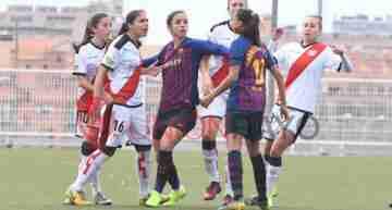 Lío entre el entrenador del Barça Femení y el Rayo Vallecano por un presunto 'insulto racista' hacia Andressa Alves