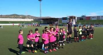 VIDEO: El Atlétic Beteró Prebenjamín jugó con un hombre menos para igualar fuerzas con el EAF Valencia CF